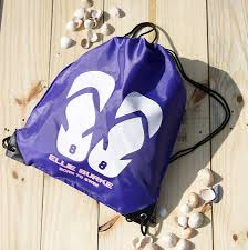 flip flop bag personalised flip flop swimming bag