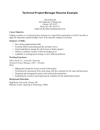 Technical Program Manager Resume Sample by Program Manager Resume Sample Saying