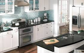 white cabinets with black countertops and backsplash black kitchen backsplash ideas with white cabinets home