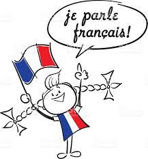 ich spr che ich spreche französisch vektor illustration 496318004 istock
