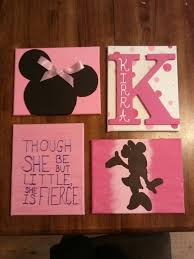 Minnie Mouse Decor For Bedroom Minnie Mouse Wooden Letters By Creativedreamsevents On Etsy