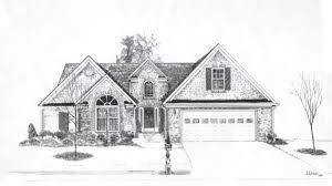 sketch drawing of a house modern home architecture sketches