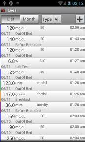 diabetes blood sugar logs glucose buddy diabetes log android apps on google play