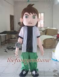 t2212 free ship ben 10 ten boy mascot costume cartoon character