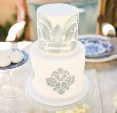 Wedding Cakes Gorgeous Hand Painted Designs Inside Weddings