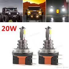 led driving lights automotive 20w h15 led bulb 4smd cree xte car fog light dc 12v 24v 360 degree