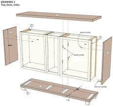 ready made kitchen islands home dzine use stock cabinets to a custom dining room