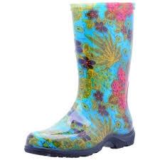 s garden boots size 11 sloggers 5002bl08 s and garden boots midsummer blue