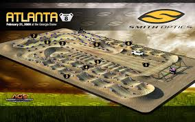 Backyard Rc Track Ideas 2009 Supercross Track Maps Racer X
