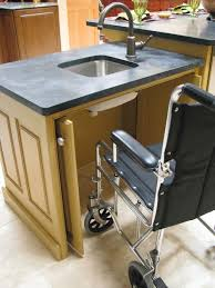 Handicap Accessible Kitchen Cabinets by Wheelchair Accessible Houzz