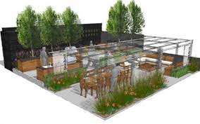 Outdoor Furniture Trade Shows by Almost Show Garden