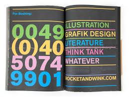 grafik design hamburg rocket wink whatever 4 in black