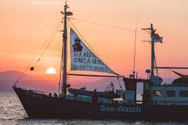 sailing in solidarity u2022 sea watch e v