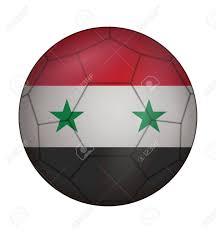 Flag Football Play Designer Design Soccer Ball Flag Of Syria Royalty Free Cliparts Vectors