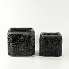 Black Square Vases Index Of Images Vases Glass