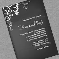chalkboard wedding invitations chalkboard ii wedding invitation wedding invitation templates