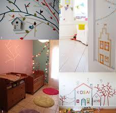 déco murale chambre bébé deco mur chambre bebe kirafes