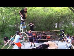 unw backyard wrestling jamie vs justin hair vs hair matc