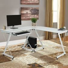 Home Office Writing Desks by Wood L Shape Corner Computer Desk Pc Laptop Table Workstation Home