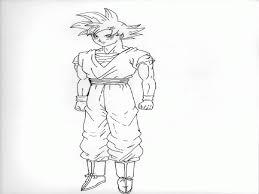 goku super saiyan god coloring pages coloring home