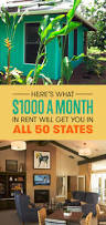 Cheapest Rent In United States by Here U0027s What 1 000 A Month In Rent Will Get You In All 50 States
