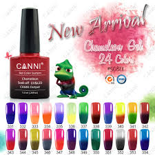 7 3ml canni color changing thermal chameleon 24 mood changes