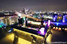 Top Ten Rooftop Bars Blue Sky Rooftop Restaurant At Centara Grand Lad Prao Bangkok