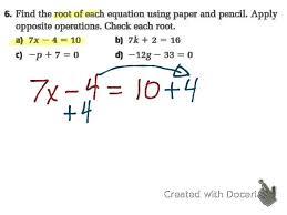 sec 3 2 4 2 solve multi step equations mpm1d grade 9 math