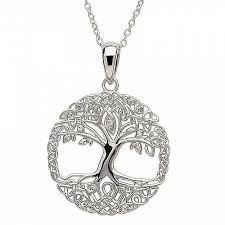 silver photo pendant necklace images Silver tree of life necklace celtic rings ltd jpg
