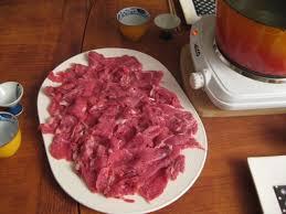 cuisiner viande à fondue shabu shabu fondue japonaise au bout du monde