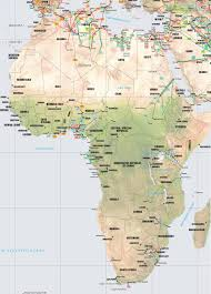 Map Of Africa With Countries Labeled by Africa Pipelines Map Crude Oil Petroleum Pipelines Natural