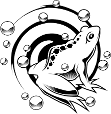 kids coloring pages of a koi fish tattoo design coloring point