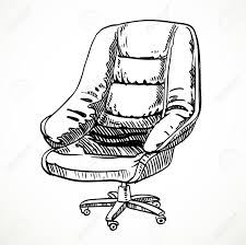 Office Chair Side View Vector Home Design Interior The Office Chair From Black Leather