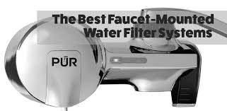 kitchen faucet filter best kitchen faucet mounted water filter systems of 2017 water