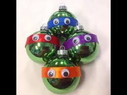 mutant turtle ornaments diy 12