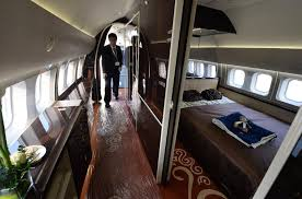 Private Plane Bedroom A Look Inside The Private Jets Of Trump Administration Insiders