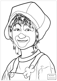 coloring pages boy clown circus activities colorpages7 com