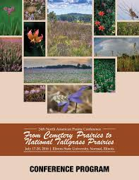 illinois native plant society north american prairie conference brochure by bobby bobbitt issuu