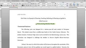how to write a paper in apa style 5 apa format fist body page youtube