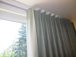 Ceiling Mounted Curtain Track System Unique Drapery
