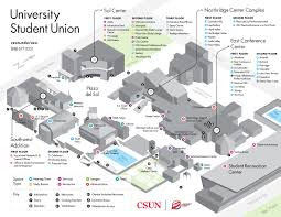 Asu Map Hours And Maps California State University Northridge