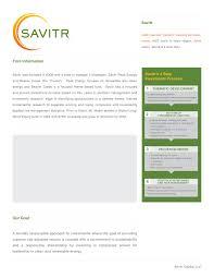 savitr brochure template daphne xu