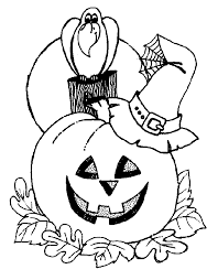 halloween color sheets halloween coloring pages printable vitlt