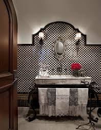 Unique Powder Room Vanities Always On Trend 20 Powder Rooms In Black And White