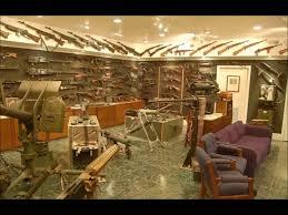 the late actor charlton heston u0027s basement gun vault youtube