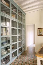 open front storage cabinets glass front storage cabinet foter organized kitchen pantry