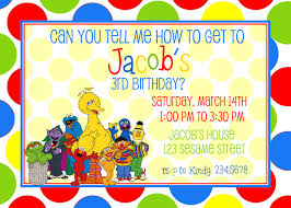 sesame street invitations template party hat candy buffet sesame street
