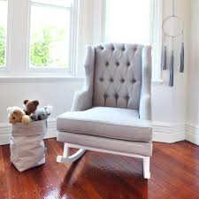 Grey Nursery Rocking Chair Sofa Captivating Grey Rocking Chair For Nursery Beige With White