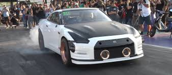 nissan gtr all wheel drive 2 500 hp nissan gt r alpha g sets 6s 1 4 mile world records is a