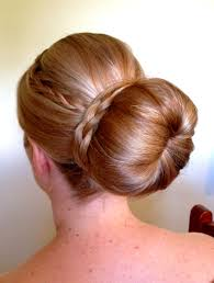 large donut bun with wrap around braid www tomadons mobile
